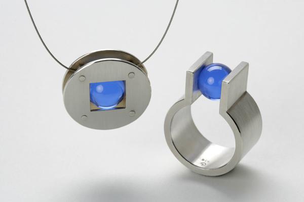 Ringe aus Silber mit Kugeln